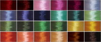 144 bobbins & 24 Thread Cones in 24 Matching Colors