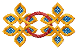 Celtic Ornament 1 embroidery design