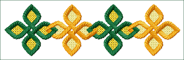 Celtic Ornament 2 embroidery design