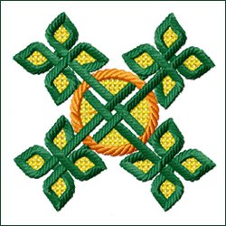 Celtic Ornament 4 embroidery design