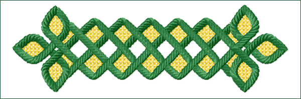 Celtic Ornament 6 embroidery design