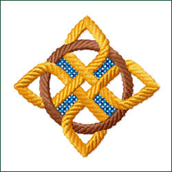 Celtic Ornament 7 embroidery design