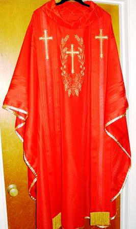Vestments made by LUCILLE SNAPKA