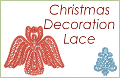 Christmas Lace Decorations