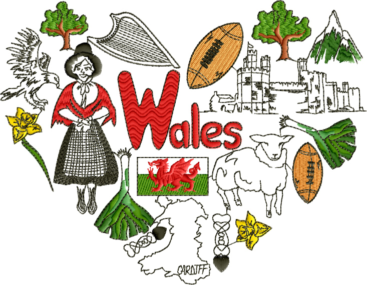 I Love Wales Designs