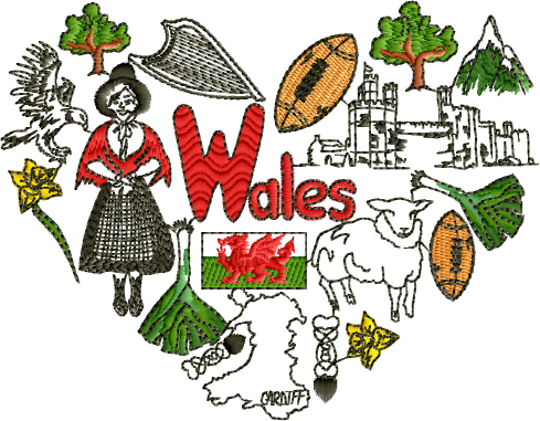 I Love WalesDesigns