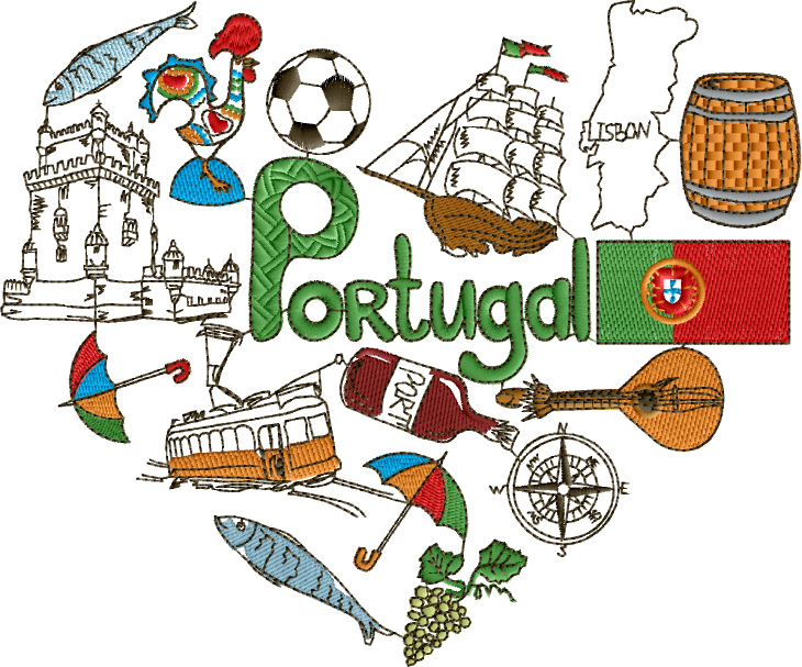 I Love Portugal Designs