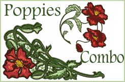 Poppies Designs COMBO