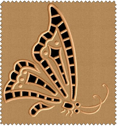 Butterfly #5 Embroidery Designs