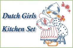 Dutch Girls Kitchen Set