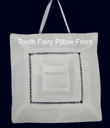 Tooth Fairy Pillow embroidery blank