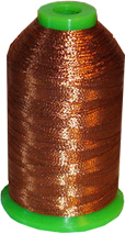 Metallic Embroidery Thread - Copper