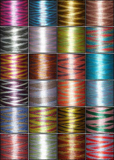 variegated machine embroidery thread