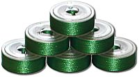 144 L Pre-Wound Plastic Sided Bobbins - Fresh Green (P746)