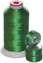 Matching Bobbins & Thread - Fresh Green Color