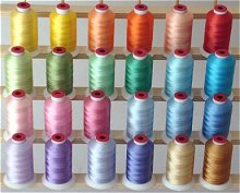 Pastel colors Polyester Thread!