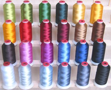 Winter Colors Polyester Thread!