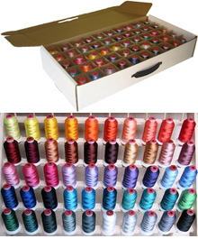 machine embroidery thread storage boxes