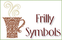 Frilly Symbols Embroidery Designs Set