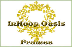 In Hoop Oasis Frames  machine embroidery designs