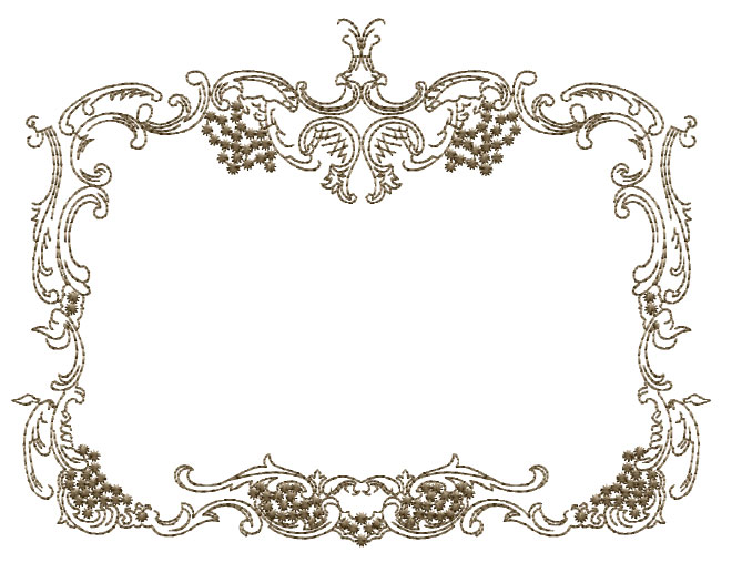 ABC Designs Medieval Frames 2 Machine Embroidery Designs