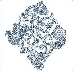Motif 5 embroidery design