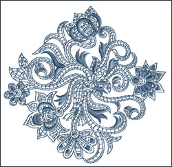 Motif 8 embroidery design