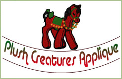 Plush Creatures Applique