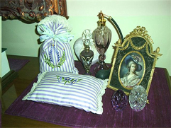 Sachet Pillow and Potpourri Bag
