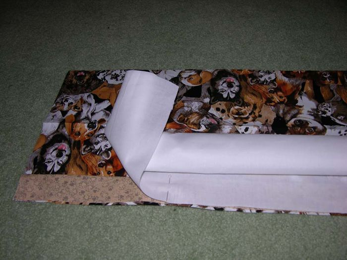 Amazing Three Seam Pillow Cases with Venice Initials - step 2