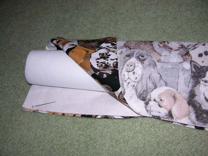 Amazing Three Seam Pillow Cases with Venice Initials - step 3