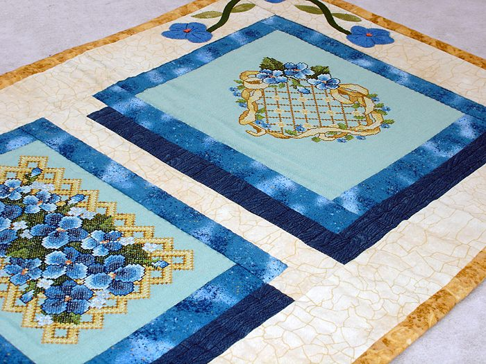 Small Violets Quilt
