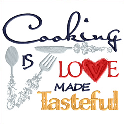 Cooking Is Love Made Tasteful