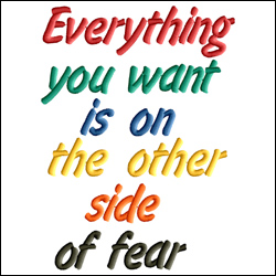Everything You Want is on the Other Side of the Fear