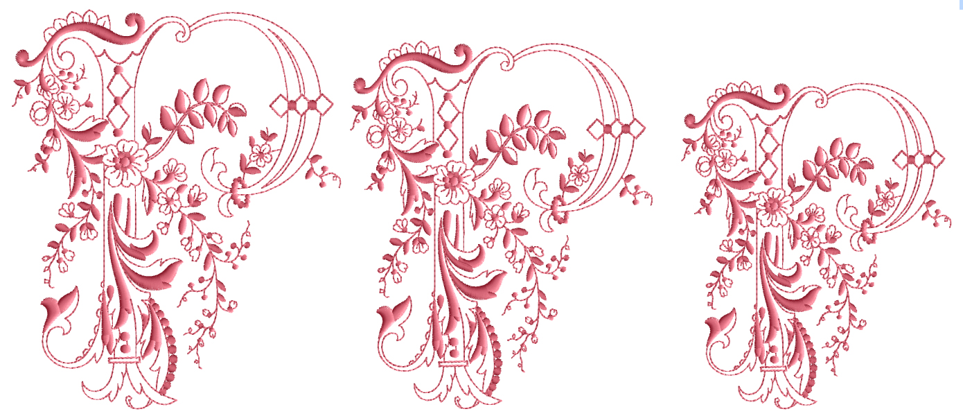 Enlaced-Romance-Embroidery-Designs-Alphabet P