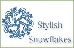 Stylish Snowflakes