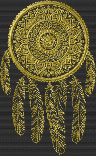 Tribal Dreamcatcher Embroidery Designs