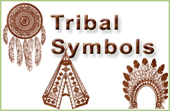 Tribal Symbols Native American Embroidery Designs
