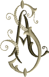 A and S Monogram