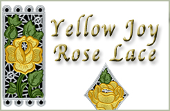 Yellow Joy Rose Lace