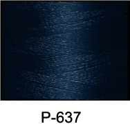 ThreaDelight Polyester Embroidery Thread Blueberry Blue