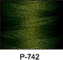 ThreaDelight Polyester Embroidery Thread Undergrowth Green