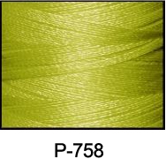 ThreaDelight Polyester Embroidery Thread Olive Green MD