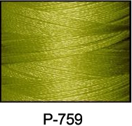 ThreaDelight Polyester Embroidery Thread Olive Green