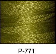 ThreaDelight Polyester Embroidery Thread Golden Olive MD