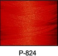 ThreaDelight Polyester Embroidery Thread Bright Orange Red
