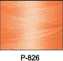 ThreaDelight Polyester Embroidery Thread Peach  60 WT