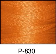 ThreaDelight Polyester Embroidery Thread Orange Spice MD 60WT