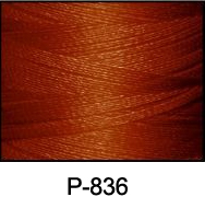 ThreaDelight Polyester Embroidery Thread Red Copper DK