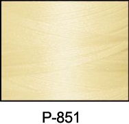ThreaDelight Polyester Embroidery Thread Pale Eggshell Cream